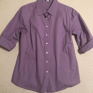 J Crew Classic Style Shirt in Lavender